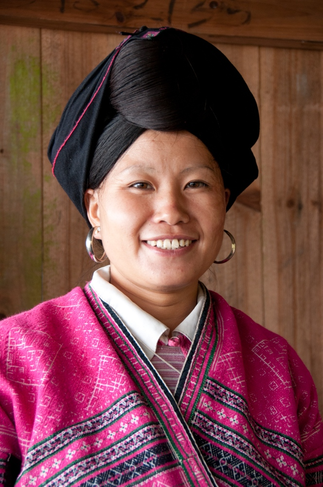 A woman from the Yao ethnic minority