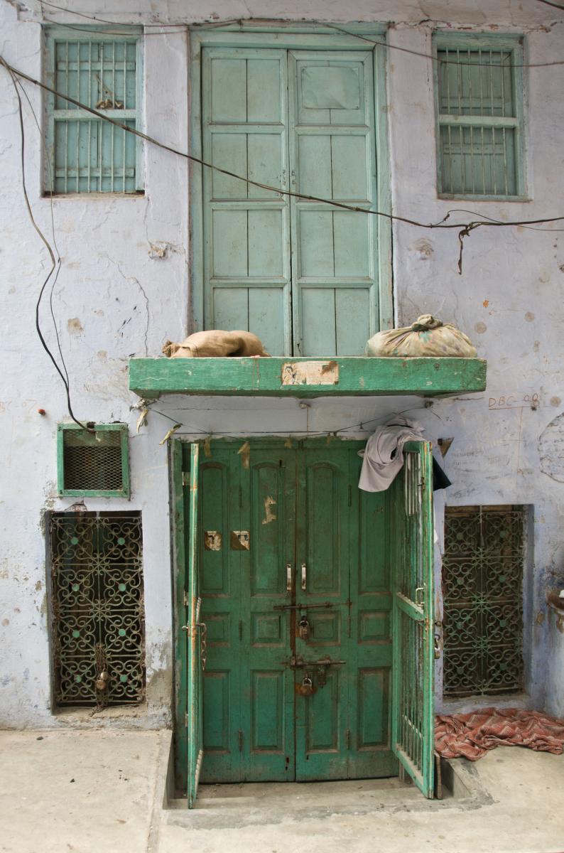 Green Doors, Delhi Old Town