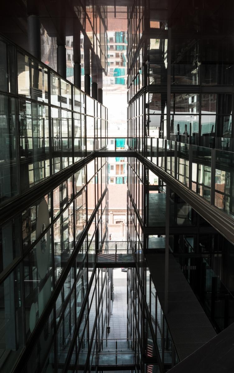 Jean Nouvel building, Museo Reina Sofia